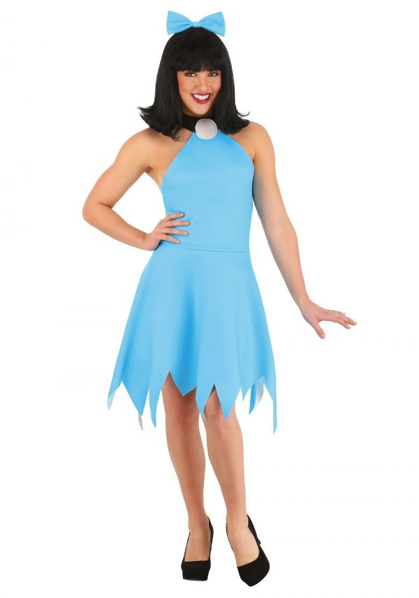 Fantasia feminino clássico Betty Rubble Os Flintstones – Classic Women's Betty Rubble Costume