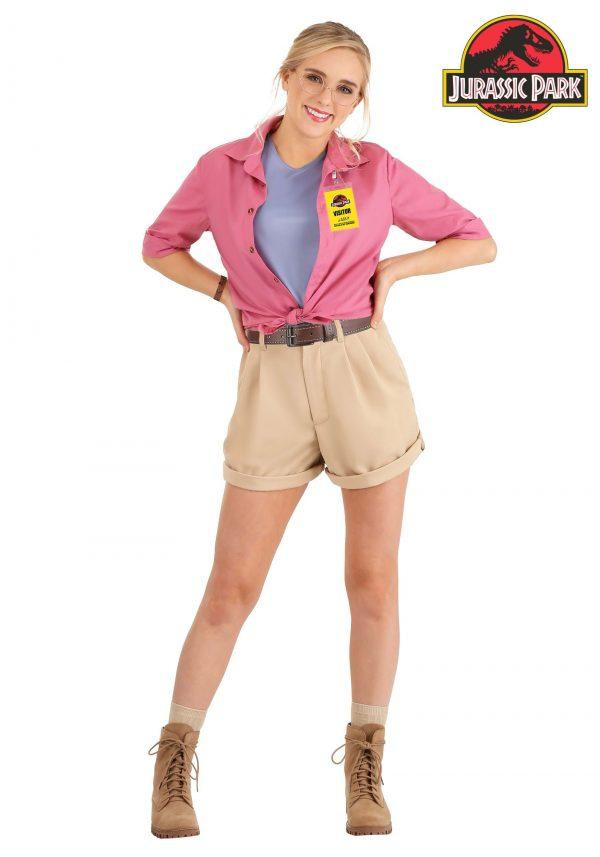 Fantasia feminino da Dra. Ellie Sattler de Jurassic Park – Jurassic Park Dr. Ellie Sattler Women's Costume