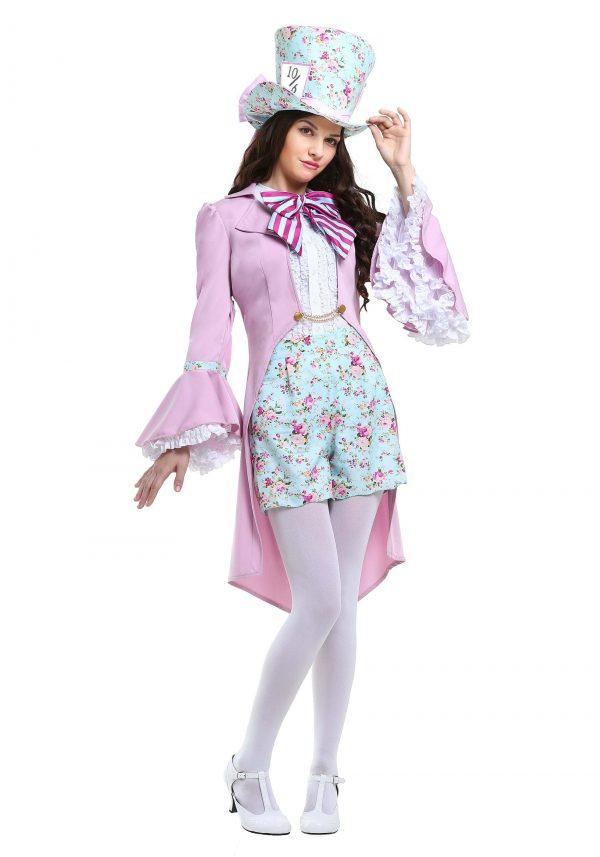 Fantasia feminino do Chapeleiro Maluco – Pretty Mad Hatter Women's Costume
