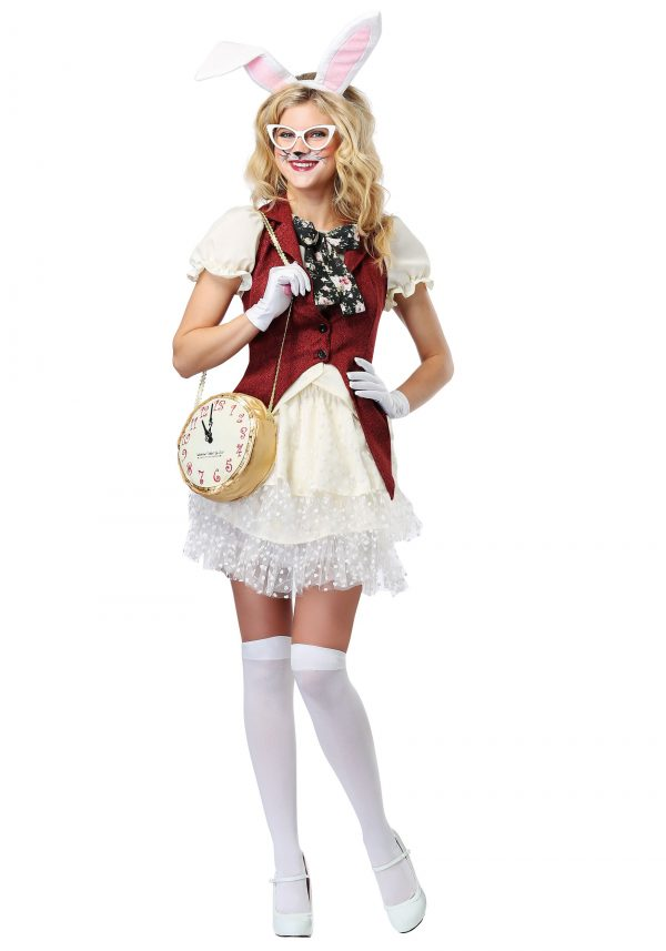 Fantasia feminino do coelho branco – White Rabbit Women's Costume