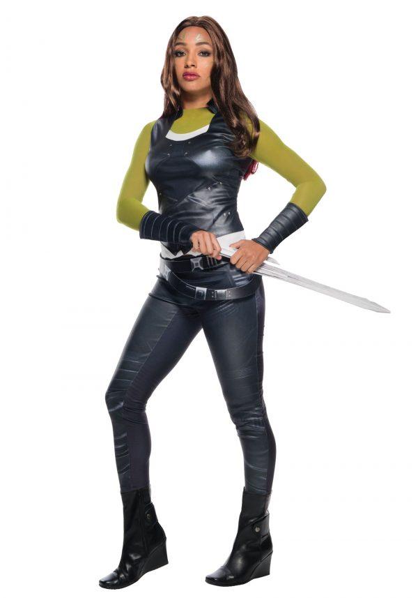 Fantasia feminino dos Guardiões da Galáxia Gamora -Guardians of the Galaxy Gamora Women's Costume