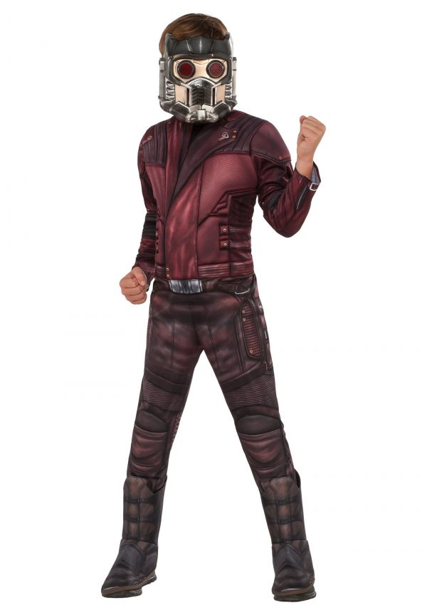 Fantasia  infantil Deluxe Star Lord – Deluxe Star Lord Kids Costume
