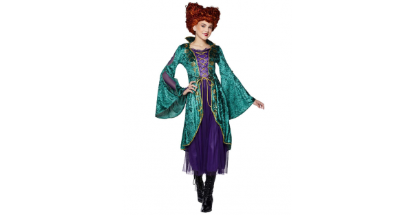 Fantasia infantil Winifred Sanderson Hocus Pocus – Kids Winifred Sanderson Costume Hocus Pocus