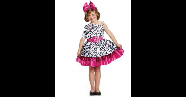 Fantasia infantil clássico Diva boneca surpresa LOL -Kids Classic Diva Costume LOL Surprise Doll