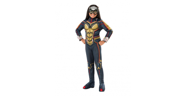 Fantasia infantil de Mulher vespa -Kids Wasp Costume Deluxe  Ant-Man and the Wasp