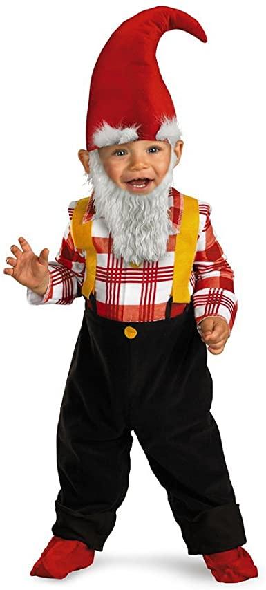 Fantasia infantil de gnomo de jardim – Children's garden gnome costume