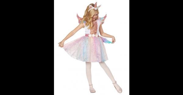 Fantasia infantil de unicórnio rosado – Kids Rosy Unicorn Costume