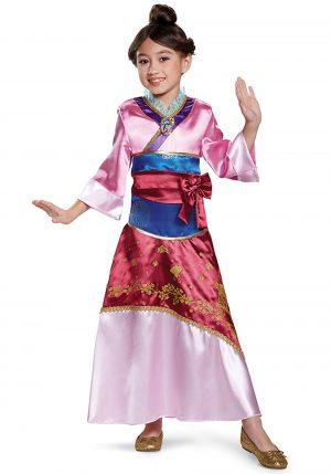 Fantasia infantil deluxe de Mulan – Mulan Deluxe Child Costume