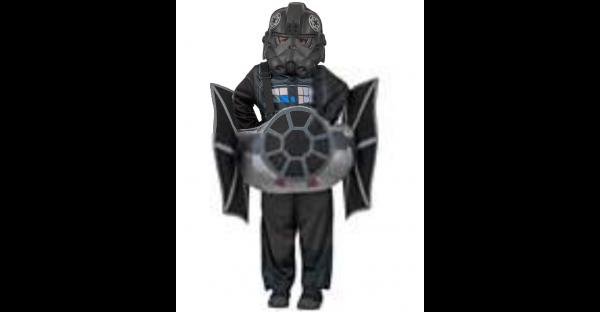 Fantasia infantil do TIE Fighter Star Wars – Kids Ride-In TIE Fighter Costume  Star Wars