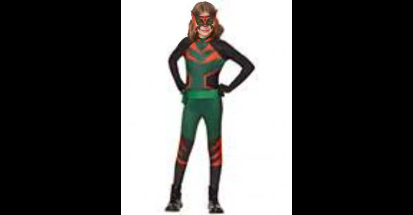 Fantasia infantil tigresa  Carmen Sandiego  – Kids Tigress Costume – Carmen Sandiego