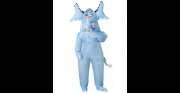 Fantasia inflável adulto Horton e o Mundo dos Quem Dr. Seuss – Adult Inflatable Horton Hears a Who Costume Dr. Seuss
