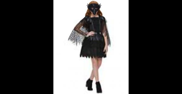 Fantasia mística de corvo infantil – Kids Mystical Raven Costume