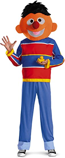 Fantasia masculina para adultos Ernie –  Ernie adult costume for men