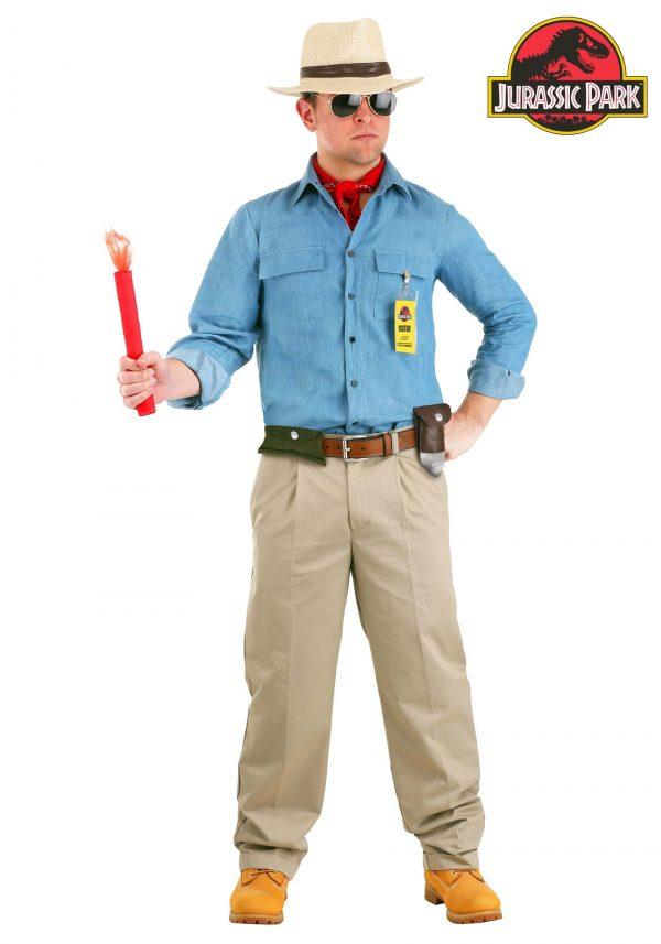 Fantasia masculino de Jurassic Park Dr. Grant – Jurassic Park Men's Dr. Grant Costume