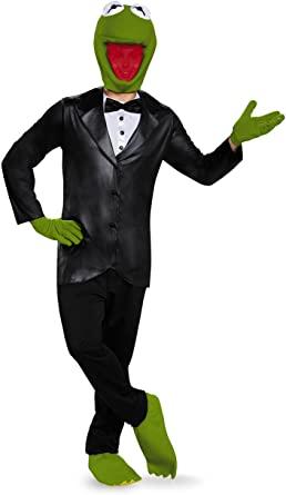 Fantasia para Adultos Caco, o Sapo – Disguise Deluxe Kermit The Frog Adult Costume