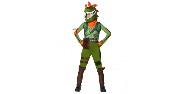 Fantasia para meninos Rex  Fortnite – Boys Rex Costume – Fortnite
