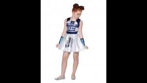 Fantasia vestido infantil R2-D2 Star Wars – Kids R2-D2 Dress Costume  Star Wars
