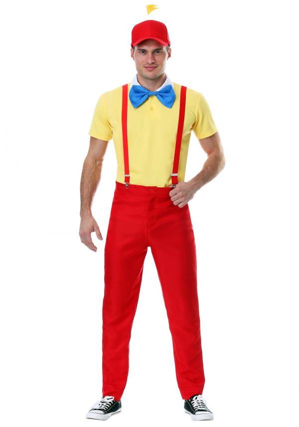 Fantasis masculino Dapper Tweedle Dee / Dum – Men's Dapper Tweedle Dee/Dum Costume