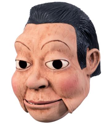 Máscara de boneca de ventríloquo – Adult Ventriloquist Doll Mask
