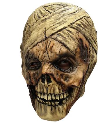 Máscara de múmia podre – Rotting Mummy Mask