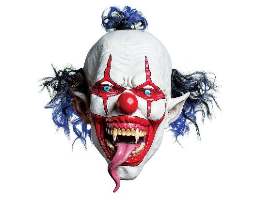 Máscara de palhaço – Tongue Clown Mask