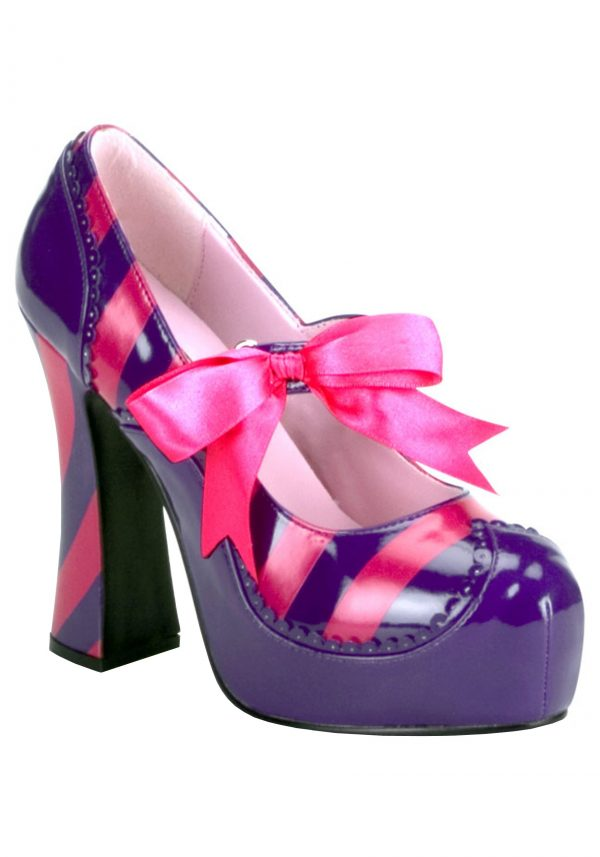 Sapatos femininos para gatos Cheshire – Womens Cheshire Cat Shoes