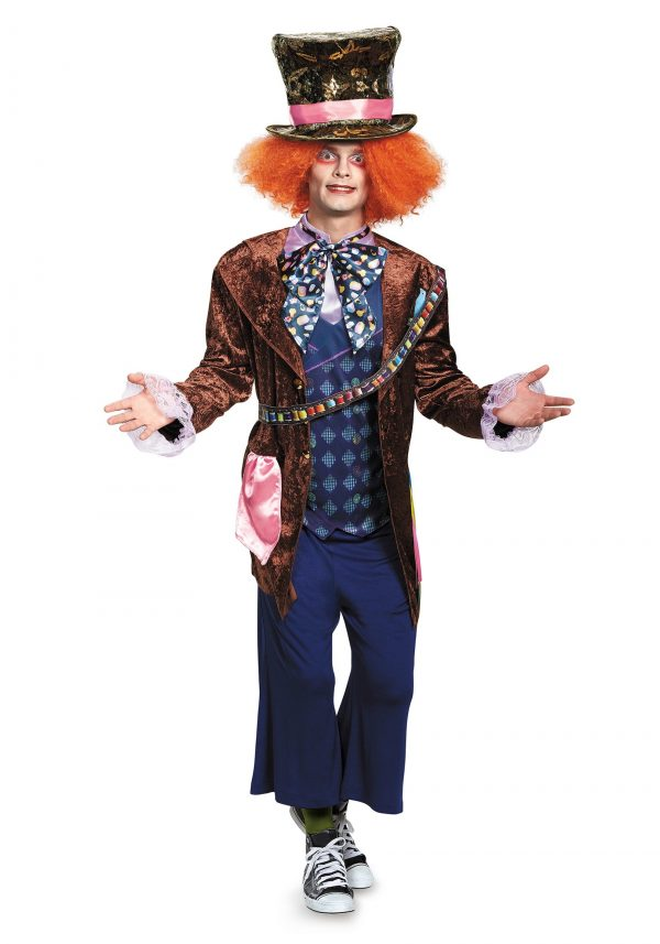 Traje Adulto Deluxe do Chapeleiro Maluco – Deluxe Mad Hatter Adult Costume