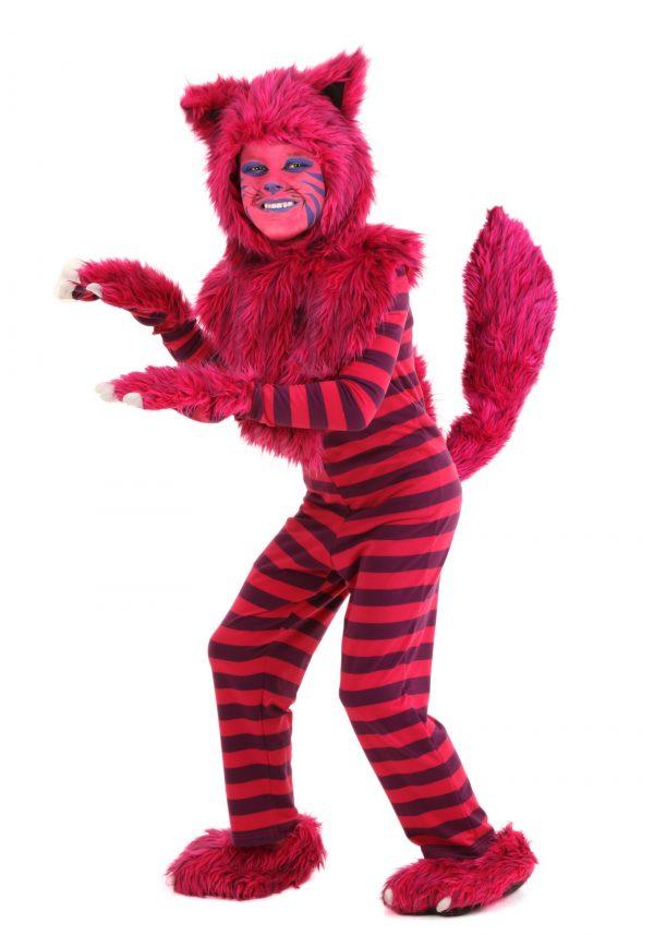 Traje Criança Deluxe Gato Cheshire – Child Deluxe Cheshire Cat Costume