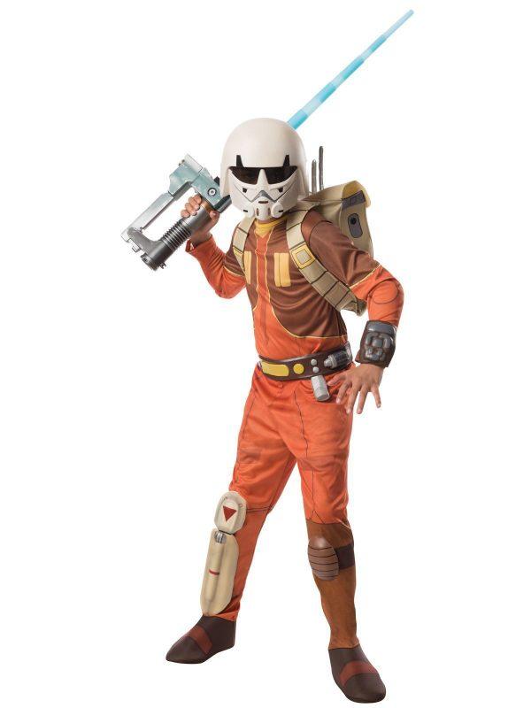 Traje infantil de luxo para Ezra Boys (Star Wars Rebels) – Ezra Boys (Star Wars Rebels) Kids Costume Deluxe