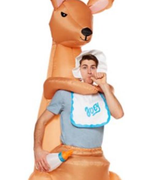 Traje inflável adulto Joey Kangaroo – Adult Joey Kangaroo Inflatable Costume