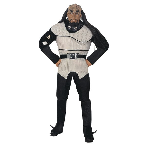 Traje masculino Deluxe Star Trek  Klingon – Men's Deluxe Star Trek Klingon Costume