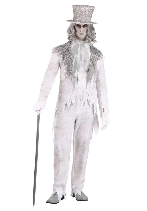 Traje masculino de fantasma vitoriano – Victorian Ghost Men's Costume