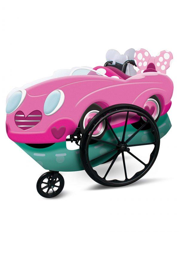 capa adaptável para cadeira de rodas Pink Minnie – Adaptive Pink Minnie Wheelchair Cover Costume