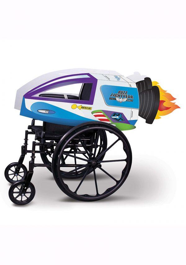 capa para cadeira de rodas adaptável da nave espacial Buzz Lightyear – Adaptive Buzz Lightyear Spaceship Wheelchair Cover Costume