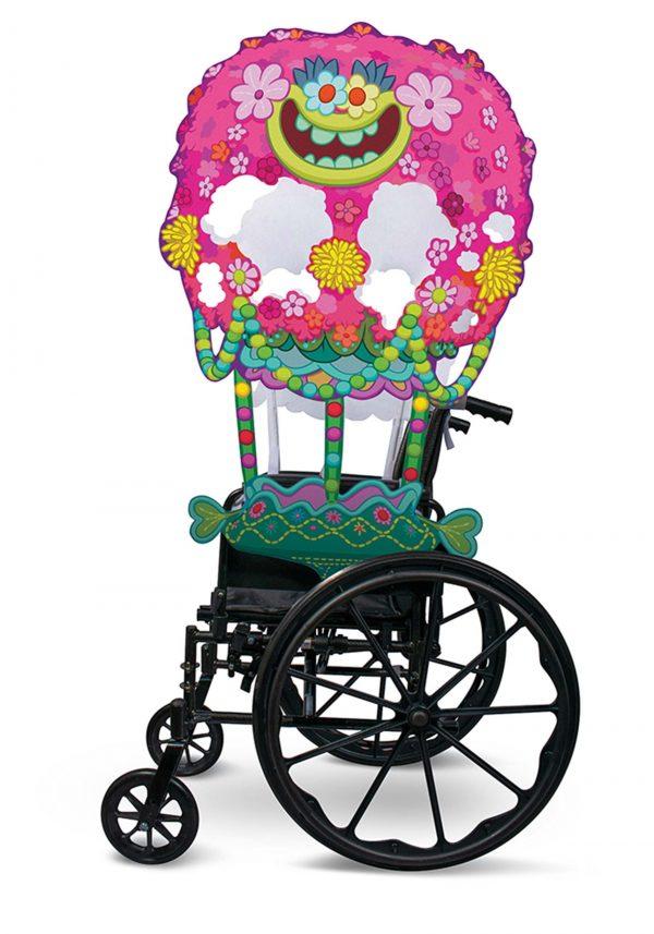 capa para cadeira de rodas adaptável de Trolls – Adaptive Trolls Wheelchair Cover Costume