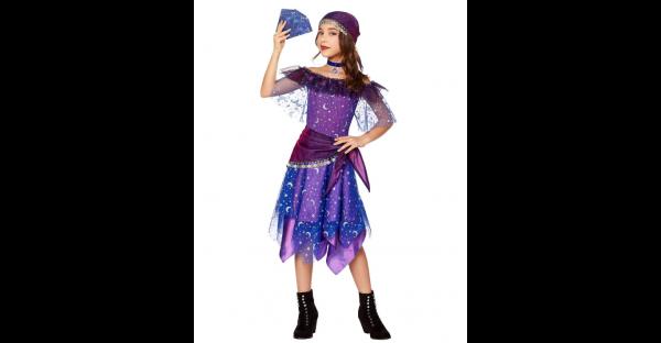 Fantasia infantil de Cartomante – Kids Miss Fortune Costume