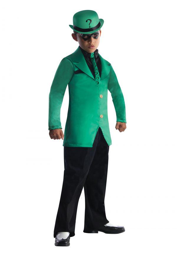 Fantasia de Charada para Meninos – Boys Riddler Costume