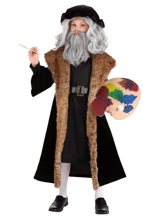 fantasia de criança de Leonardo da Vinci – Leonardo da Vinci Kid's Costume