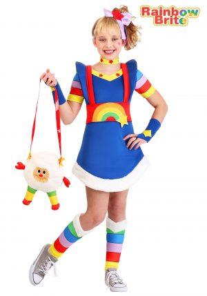 Fantasia de Rainbow Brite Girl – Rainbow Brite Girl's Costume