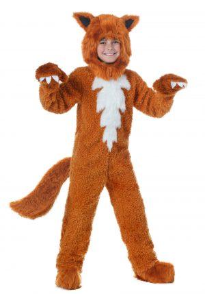 Fantasia de Raposa vermelha para crianças – Red Fox Costume for Kids