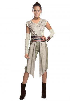 Fantasia de Star Wars The Force Awakens Rey para adultos – Adult Deluxe Star Wars The Force Awakens Rey Costume