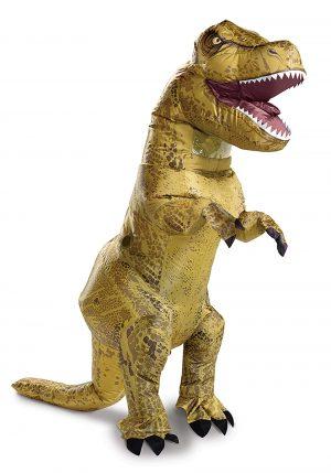 Fantasia de T-Rex inflável do Jurassic World para adultos – Jurassic World Inflatable T-Rex Costume for Adults