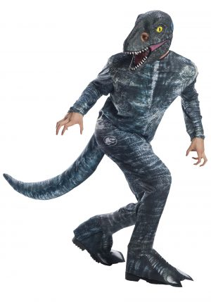 "Fantasia de Velociraptor ""Blue"" de Jurassic World 2 para adultos – Jurassic World 2 ""Blue"" Velociraptor Costume for Adults"