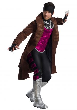 Fantasia de gambito adulto de X-Men – X-Men Adult Gambit Costume