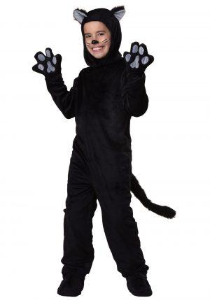 Fantasia de gato preto infantil- Kid's Black Cat Costume