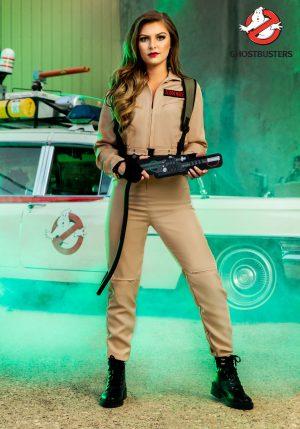 Fantasia de macacão feminino Ghostbusters – Ghostbusters Women's Jumpsuit Costume