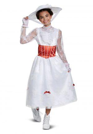 Fantasia de menina Deluxe Mary Poppins- Deluxe Mary Poppins Girl's Costume