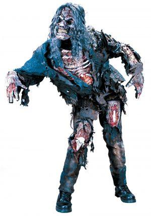 Fantasia de zumbi adulto- Adult Zombie Costume