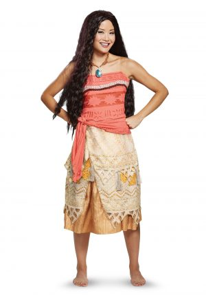 Fantasia feminina da Disney Moana – Disney Moana Womens Costume