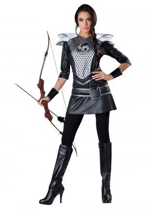 Fantasia feminina de caçadora da meia-noite – Women's Midnight Huntress Costume